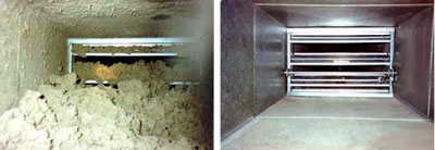 Air Ducts Before and After